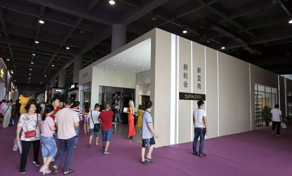 SPAZIO custom home stunning Guangzhou Construction Expo successfully concluded